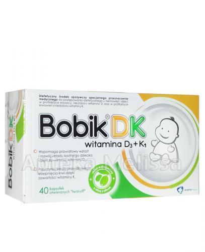 BOBIK DK twist-off - 40 kaps.  - Apteka internetowa Melissa