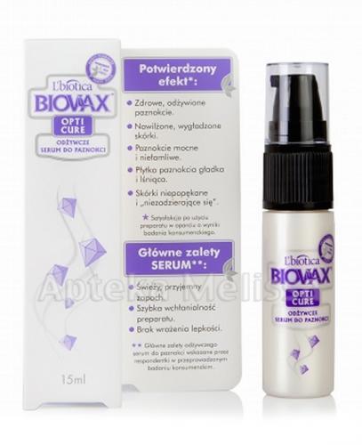 BIOVAX OPTI CURE Odżywcze serum do paznokci - 15 ml