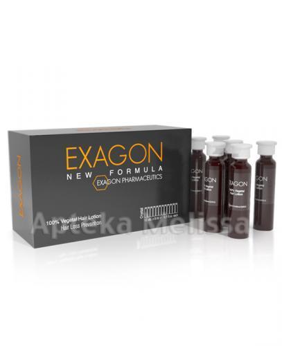 EXAGON NEW FORMULA Ampułki przeciwko wypadaniu włosów - 12 amp. - Apteka internetowa Melissa