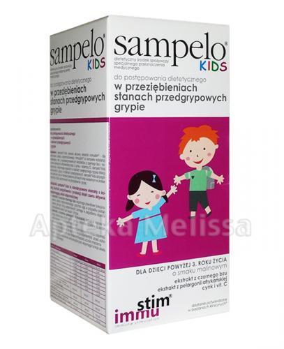 SAMPELO KIDS Syrop - 120 ml - Apteka internetowa Melissa