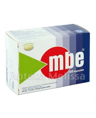 MBE - 60 kaps. - Apteka internetowa Melissa