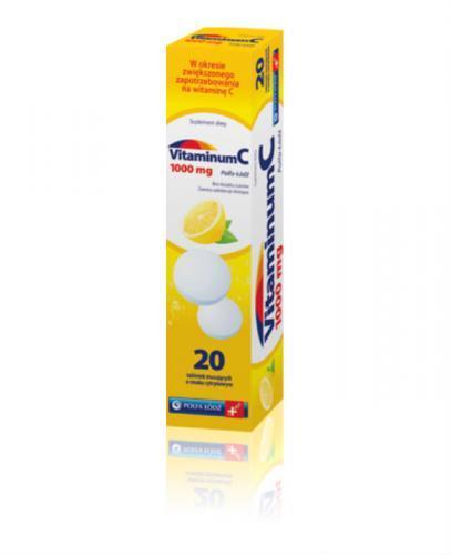 WITAMINA C 1000 mg - 20 tabl. mus. - Apteka internetowa Melissa