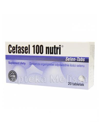 CEFASEL 100 NUTRI - 20 tabl. - Apteka internetowa Melissa