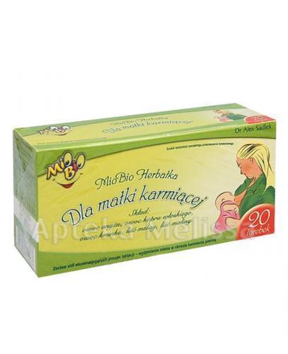 MIO BIO Herbatka dla matki karmiącej - 20 sasz. - Apteka internetowa Melissa