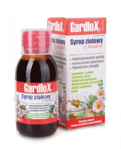 GARDLOX Syrop ziołowy z miodem - 120 ml - Apteka internetowa Melissa