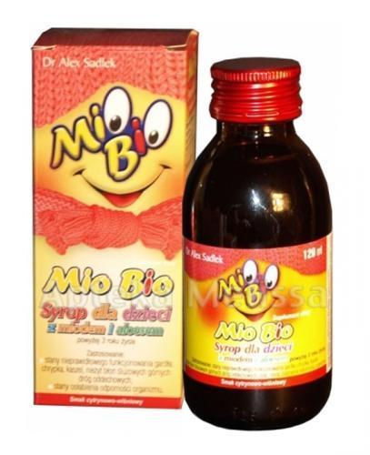 MIO BIO Syrop ziołowy dla dzieci - 120 ml - Apteka internetowa Melissa