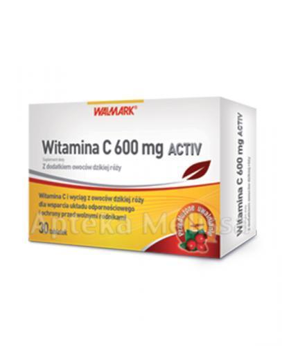 WALMARK WITAMINA C AKTIV 600 mg - 30 tabl. - Apteka internetowa Melissa