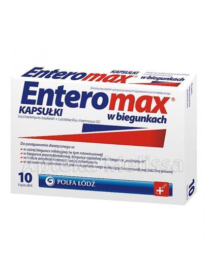 ENTEROMAX - 10 kaps.