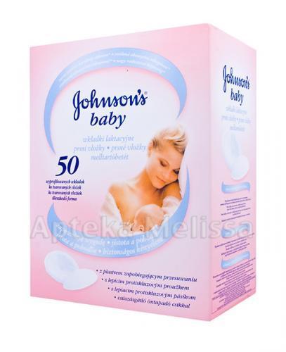 JOHNSON`S BABY Wkładki laktacyjne - 50 szt. (JOHNSONS) - Apteka internetowa Melissa