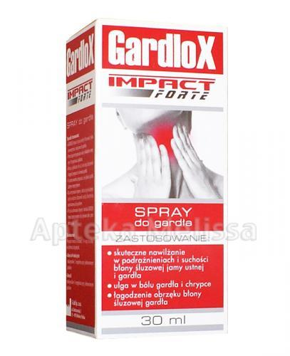GARDLOX IMPACT FORTE Spray do gardła - 30 ml - Apteka internetowa Melissa