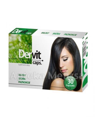 DERVIT - 30 kaps.  – Apteka internetowa Melissa