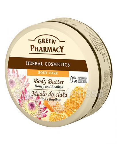 GREEN PHARMACY Masło do ciała miód i rooibos - 200 ml - Apteka internetowa Melissa
