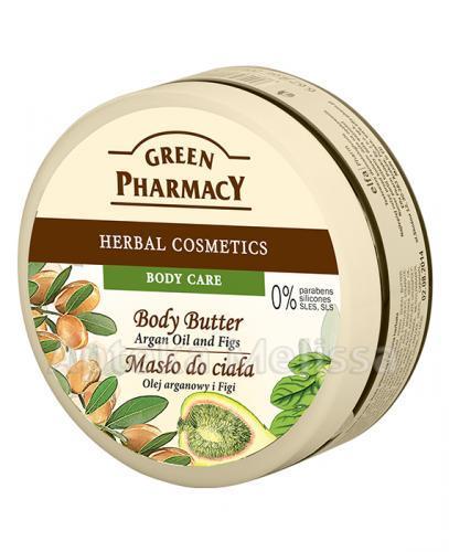 GREEN PHARMACY Masło do ciała olej arganowy i figi - 200 ml - Apteka internetowa Melissa