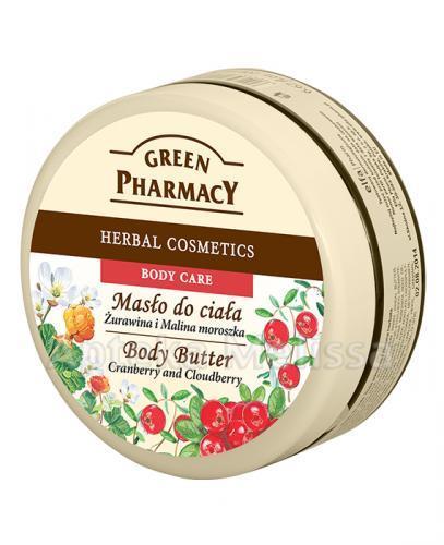GREEN PHARMACY Masło do ciała żurawina i malina moroszka - 200 ml - Apteka internetowa Melissa
