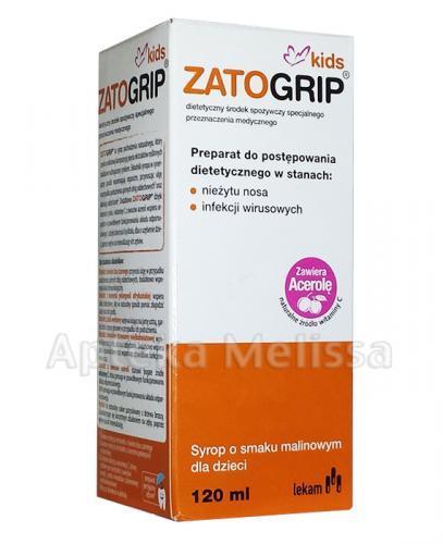 ZATOGRIP KIDS Syrop - 120 ml - Apteka internetowa Melissa
