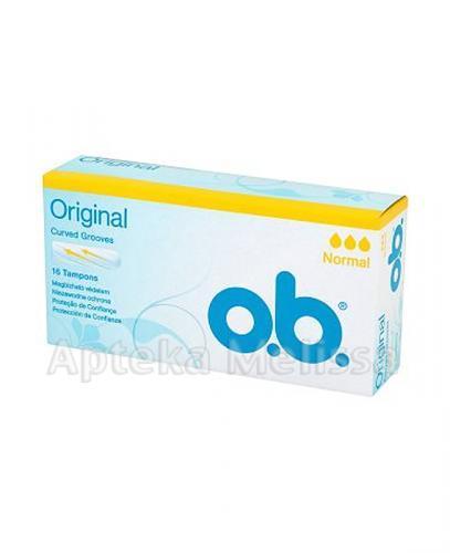 OB ORIGINAL Tampony normal - 16 szt. - Apteka internetowa Melissa