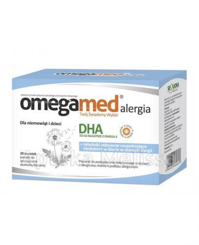 Omegamed Alergia - Apteka internetowa Melissa