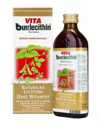 VITA BUERLECITHIN Płyn - 250 ml  - Apteka internetowa Melissa