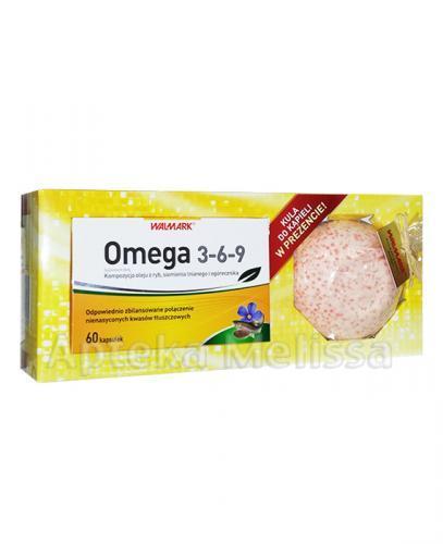 WALMARK OMEGA 3-6-9 - 60 kaps. + Kula do kąpieli o zapachu mango GRATIS! - Apteka internetowa Melissa