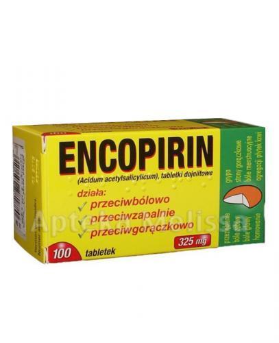 ENCOPIRIN 325 mg - 100 tabl. - Apteka internetowa Melissa