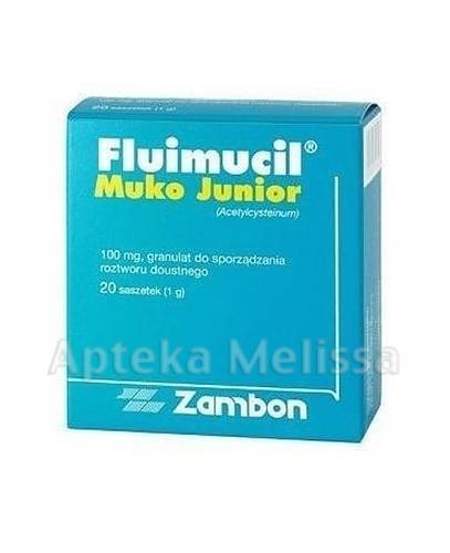 FLUIMUCIL MUKO JUNIOR 100 mg - 20 sasz. - Apteka internetowa Melissa