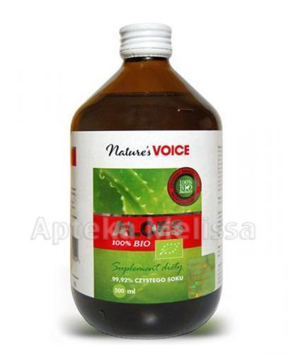 ALOES 100% NATURE`S VOICE BIO - 500 ml  - Apteka internetowa Melissa