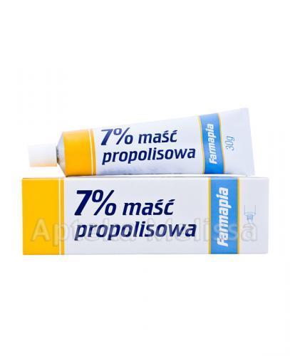 MAŚĆ PROPOLISOWA 7% - 30 g - Apteka internetowa Melissa