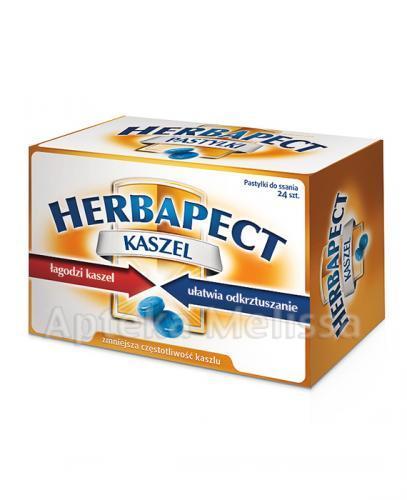 HERBAPECT KASZEL - 24 past.  - Apteka internetowa Melissa