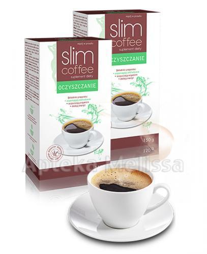 SLIM COFFEE OCZYSZCZANIE - 150 g  - Apteka internetowa Melissa