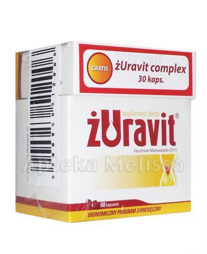 ŻURAVIT - 60 kaps. + ŻURAVIT COMPLEX - 30 kaps.  - Apteka internetowa Melissa