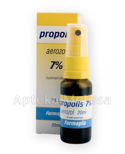 FARMAPIA PROPOLIS 7% Aerozol - 20 ml - Apteka internetowa Melissa