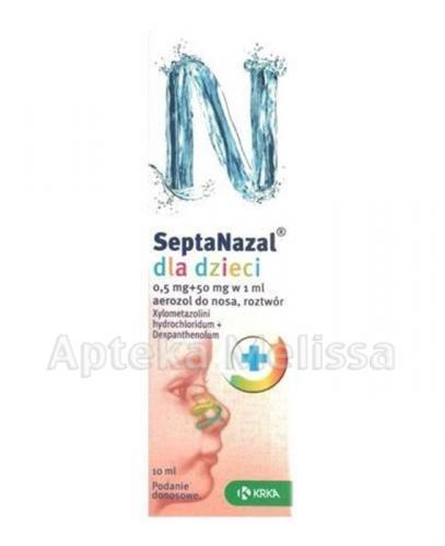 SEPTANAZAL Aerozol do nosa dla dzieci - 10 ml - Apteka internetowa Melissa