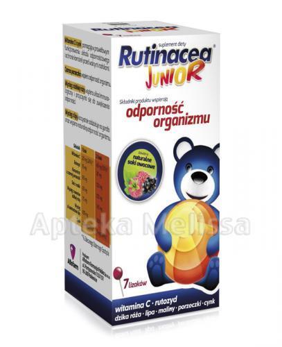 RUTINACEA JUNIOR Lizaki - 7 szt. - Apteka internetowa Melissa