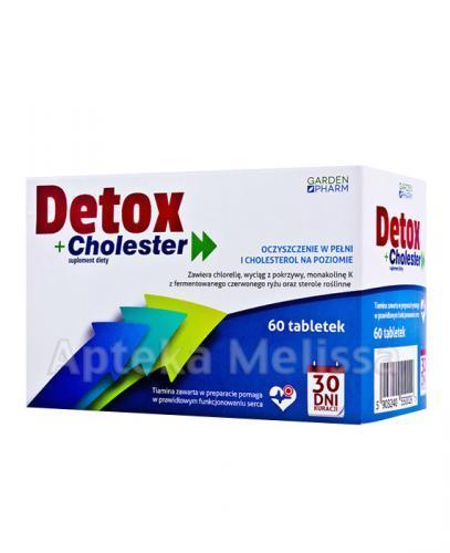 DETOX+ CHOLESTER - 60 tabl. - Apteka internetowa Melissa