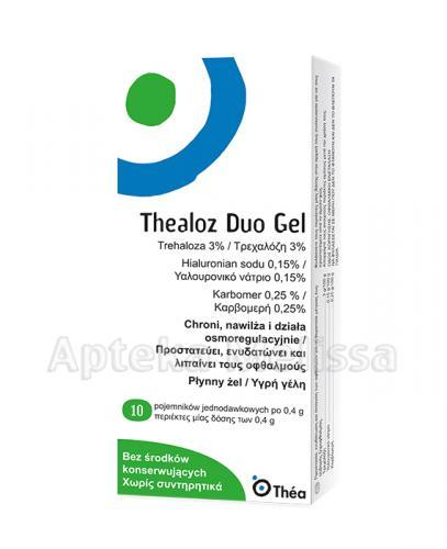 THEALOZ DUO GEL Żel do oczu - 10 minims. - Apteka internetowa Melissa