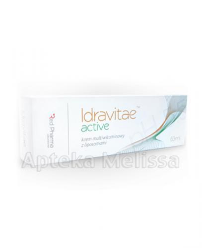 IDRAVITAE ACTIVE Krem multiwitaminowy z liposomami - 63 ml - Apteka internetowa Melissa