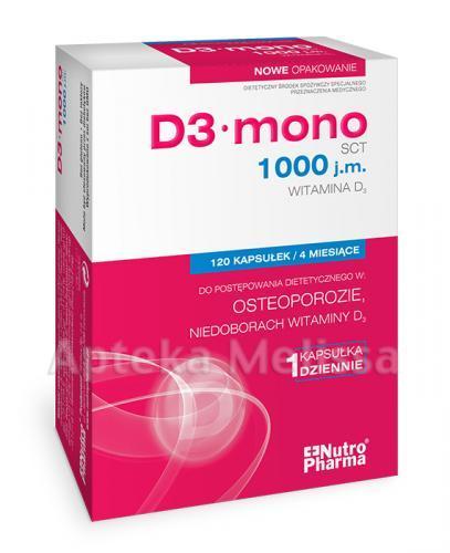 WITAMINA D3 1000 j.m. MONO - 120 kaps.