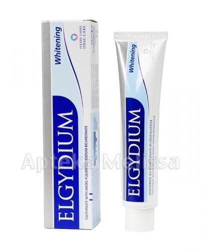 ELGYDIUM Pasta do zębów wybielająca - 50 ml - Apteka internetowa Melissa