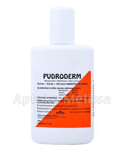 PUDRODERM Puder w płynie - 140 g