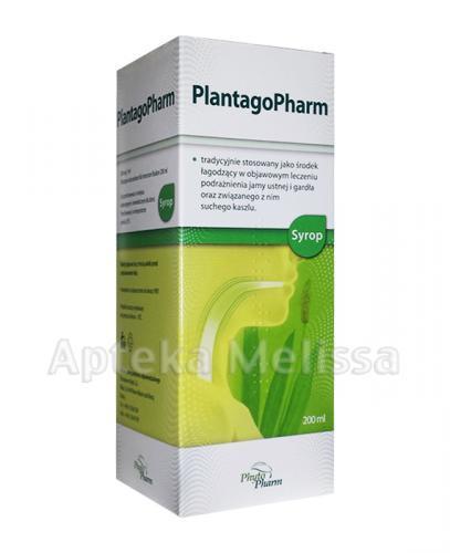 PLANTAGOPHARM Syrop - 200 ml - Apteka internetowa Melissa