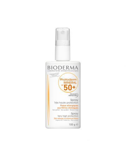 BIODERMA PHOTODERM MINERAL Spray z filtrem mineralnym SPF50+ - 100 g - Apteka internetowa Melissa