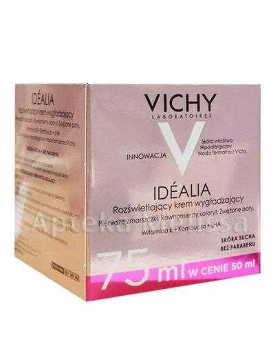 VICHY IDEALIA Krem do twarzy skóra sucha - 75 ml