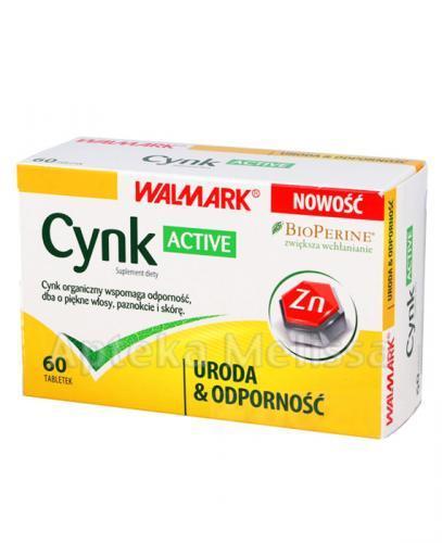 WALMARK CYNK ACTIVE - 60 tabl. - Apteka internetowa Melissa