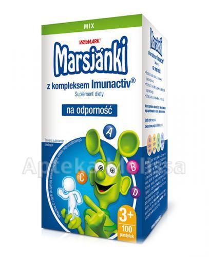 MARSJANKI IMUNACTIV Na odporność mix smaków - 100 past.