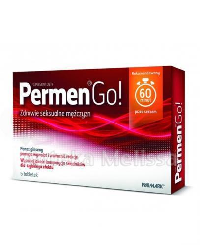 PERMEN GO - 6 tabl. - Apteka internetowa Melissa