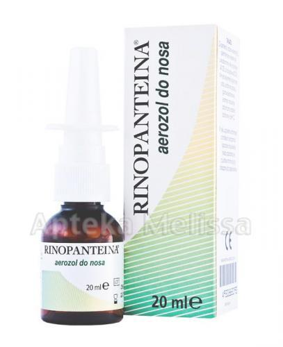RINOPANTEINA Aerozol do nosa - 20 ml - Apteka internetowa Melissa