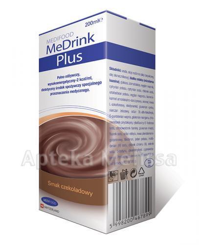 MEDRINK PLUS Smak czekoladowy - 200 ml - Apteka internetowa Melissa