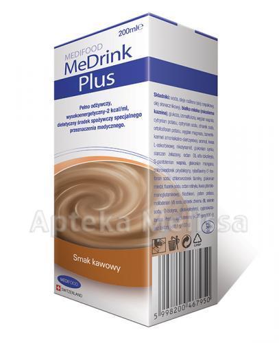 MEDRINK PLUS Smak kawowy - 200 ml - Apteka internetowa Melissa