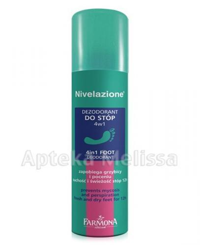 FARMONA NIVELAZIONE Dezodorant do stóp 4w1 - 150 ml - Apteka internetowa Melissa