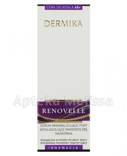 DERMIKA RENOVELLE Serum minimalizujące pory, wygładzające mikrorzeźbę naskórka - 30 ml - Apteka internetowa Melissa